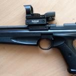 Пистолет пневматический Crosman 1377 черный, Новосибирск