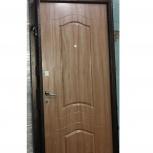 """Входная дверь """"Дельта-Стандарт А2"""" с МДФ (ваш размер), Новосибирск"""