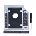Салазки для установки SSD/HDD-диска в ноутбук вместо CD/DVD, Новосибирск