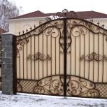 Ворота, заборы, Новосибирск