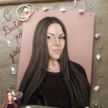 Портрет по фото на заказ, художник-профессионал, Новосибирск
