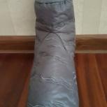 Сапожок тканевый стеганый на правую ногу р.42, Новосибирск