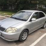 Аренда авто с выкупом Toyota Corolla 2001, Новосибирск