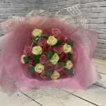 Букет из шоколадных роз (27 шт), Новосибирск