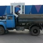 Песок, щебень, пгс, отсев, навоз, земля чёрная- доставка зилом, Новосибирск