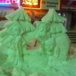 Снежные городки, фигуры, Новосибирск