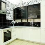 Кухня черно-белая, Новосибирск