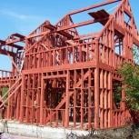 Строительство каркасных домов, Новосибирск