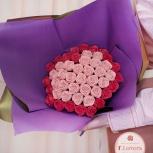 Букет ассорти из шоколадных роз (47 шт), Новосибирск