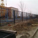 Металлический забор, Новосибирск