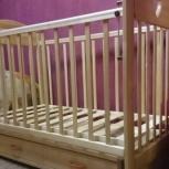 Детская кроватка  новая, Новосибирск