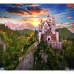 "Картина по номерам ""Замок на горе"" 40х50 см, Новосибирск"