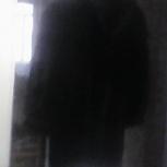 Шуба мужская черная из меха собаки, Новосибирск
