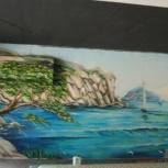 Профессиональная роспись стен, Новосибирск