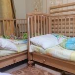 Продам кроватки детские б/у, Новосибирск