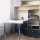 Письменный стол со встроенным стеллажом, Новосибирск