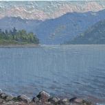 продам курс рисования этюд с натуры телецкое озеро, Новосибирск