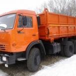 Самосвал камаз для перевозки песка,мусора,строй материалов и тд, Новосибирск