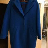 Демисезонное пальто синие-зелёное 42-S, Новосибирск