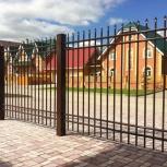 """Производство и монтаж заборов """"под ключ"""", Новосибирск"""