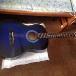 Гитара акустическая с чехлом, Новосибирск
