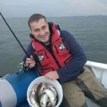 Рыбалка на катере, Новосибирск