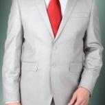 Продам мужской костюм светлый, новый, Новосибирск
