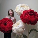 Ростовые цветы для свадьбы, фотосессии и интерьера, Новосибирск