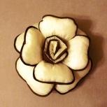 Декоративная подушка-роза ручной работы, Новосибирск