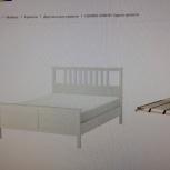 Продам кровать 180х200 Икея с матрасом, Новосибирск