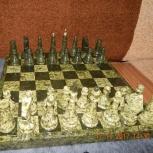 Шахматы подарочные из  полудрагоценного камня, Новосибирск