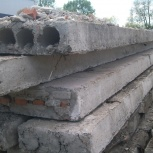 Дорожные плиты б/у и новые. Плиты перекрытия б/у и новые. Демонтаж, Новосибирск