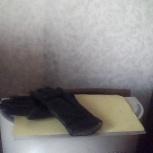 Перчатки кожаные с мехом, Новосибирск