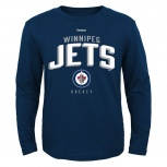 Новая детская футболка хоккей Reebok NHL Winnipeg Jets, Новосибирск