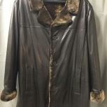 Новая зимняя кожаная куртка р. 62-64 (Турция), Новосибирск