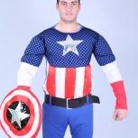 """Карнавальный костюм """"Капитан Америка"""" напрокат, Новосибирск"""
