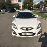 Аренда автомобиля Mazda 6 с водителем, Новосибирск