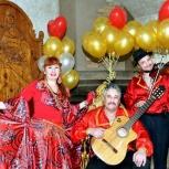 """Трио цыганской песни  """"Ляля рыжая"""", Новосибирск"""