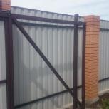 Откатные ворота: производство и монтаж!, Новосибирск