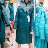48-58р Длинное пальто на верблюде нат шик мех, Новосибирск