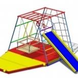 Детский спортивный комплекс Пирамида, можно использовать как манеж, Новосибирск