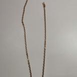Золотая цепь, якорное плетение., Новосибирск
