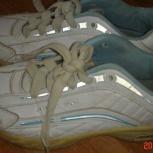 Белые кроссовки, 35 р. нат. кожа, Новосибирск