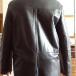 Натуральная кожаная куртка с нат. мехом ISNOVA, Новосибирск