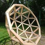 Кресло деревянное подвесное качели качалка кокон корзина гамак садовые, Новосибирск