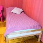 Детская кроватка Икеа с матрасом и бортиком, Новосибирск