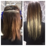 Наращивание, кератиновое выпрямление волос, Новосибирск