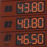 Цифровое табло на стелу для АЗС, Новосибирск