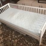 Кроватка детская + матрас, Новосибирск