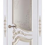 Дизайнерские двери. Выбери размер, модель, цвет, декоры. Шпон, эмаль, Новосибирск